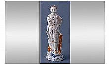 Late 18th Century Staffordshire Figure of Admiral