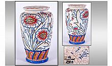 Charlotte Rhead Crown Ducal Signed Vase. Circa