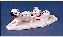 Royal Doulton 101 Dalmations Series, Lucky and