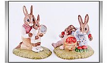 Royal Doulton - Just In Time For Wimbledon. The