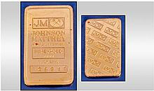 Johnson Matthey Five Gold 9999 Ingot. 5 grams.