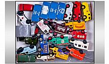 Collection Of Diecast Models, All Loose Unboxed.