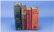 Four Old Books comprising Home Management compiled