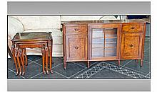 Reproduction Walnut Cupboard/Side Cabinet with