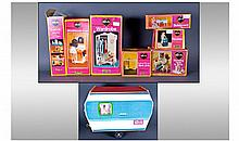 Eight Vintage ''Sindy'' Toys. Comprising Caravan,