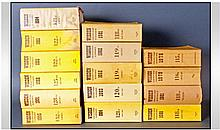 Collection Of Cricketers Almanacks For The Years;
