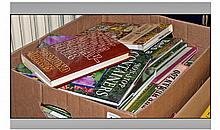Box Of Assorted Books On Gardening And Flowers.