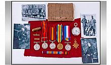 Military Interest, Comprising A Group Of Medals To