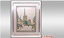 L.S. Lowry R.A 1887-1976 Pencil Signed Ltd Edition