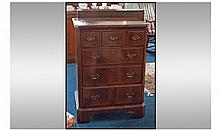 Queen Anne Style Walnut Dummy Draw Front TV