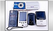 Selection of Six Portable Devices, no chargers