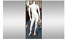 Life Size Female Mannequin, movable body and arms,