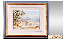 John Varley 1778 - 1842 Landscape, Lake District