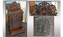 A Seventeenth/Eighteenth Century Pre Dieu in Oak