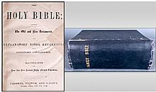 Cassells Illustrated Large Family Bible, complete