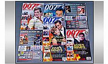James Bond Autograph Collection. Nice set of Bond