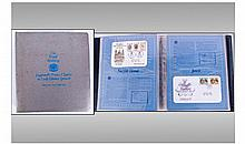 Large Book Of Royalty Stamps.