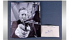 Ian Fleming Autograph of James Bond Author on