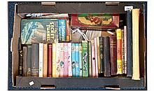 Collection of Old Books including Enid Blyton and