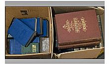Two Boxes of Assorted Books including Set of