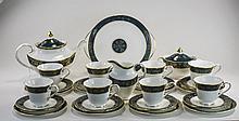 Royal Doulton 'Carlyle' Design Tea Set comprising
