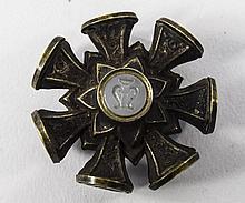 George III - Fine Multi - Desk Brass 8 Sided Intaglio Wheel Seals. c.1790-1
