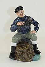Royal Doulton Figure ' The Lobster Man ' HN.2317. Issued 1964 - 1994. Heigh