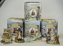 4 Border Fine Arts Beatrix Potter Figures Comprisi