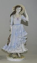 Royal Worcester Ltd and Numbered Figurine ' Summer