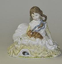 Royal Worcester Ltd and Numbered Figurine ' Safe a