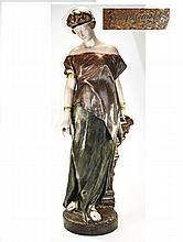 Goldscheider - Art Nouveau Tall and Impressive Sig