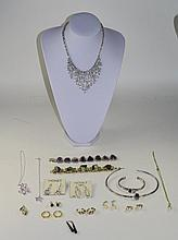 Collection Of Costume Jewellery. To Include Some Monet, Earrings, Bracelets