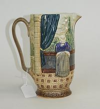 Beswick Jug, With Raised Decoration Depicting Rome