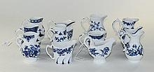 Royal Worcester 20th Century Collection of Blue an
