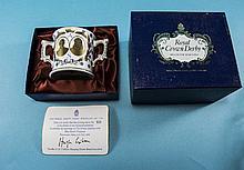 Royal Crown Derby 'Prince Andrew and Sarah Ferguson Wedding' Loving Cup Lim