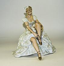 A Fine German - Porcelain Wallendorf Figure of a B