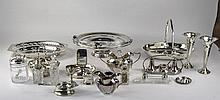 A Good Collection of Silver Plated Items ( 16 ) It