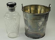 Late 19th Early 20thC Silver Plated Ice Bucket, To