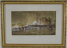 Geoffrey Mortimer Title ' Blackpool Promenade ' c.