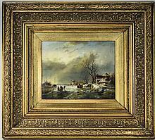 Dutch 20th Century Artist Signed Painting, Dutch W