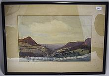 James Purdy Oldham Artist Framed Watercolour Depic