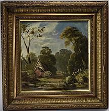 James Stark Norwich School 1794 - 1859 Cottage wit
