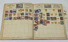 Good ACE Elizabethan Stamp Album, heavily hinged i