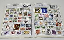 Well Presented ''Globemaster'' Stamp Album. Mostly