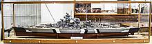Hachette - Large and Impressive Hand Built Model, Scale 1/200 of The German