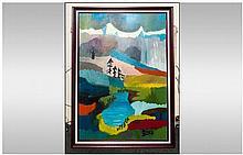 Michael Steinpichler Austrian Artist Born 1943 Tit