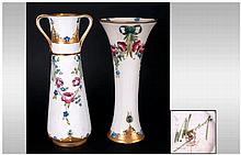 William Moorcroft Macintyre Signed Vases ( 2 ) In Total. c.1908-1913. Decor
