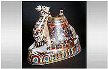 Royal Crown Derby Ship Of The Desert Paperweight ' Camel ' Large Size. Prod