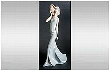 Royal Doulton Reflection Series Figurine ' WindSwept ' HN.3027. Designer R.