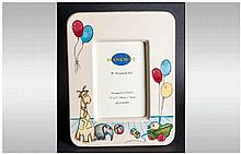 Moorcroft - Large Nursery Photo Frame. Designer Nicola Slaney, Nursery Past